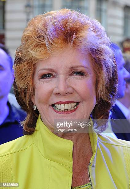 Cilla Black attends the press night of Sister Act The Musical at London Palladium on June 2 2009 in London England