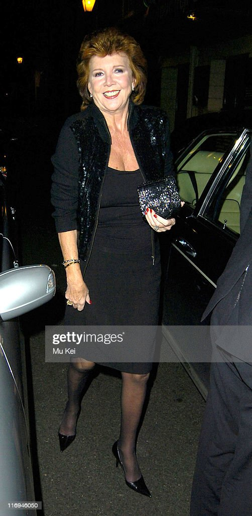 Celebrity Sightings at The Ivy Restaurant in London - December 12, 2005