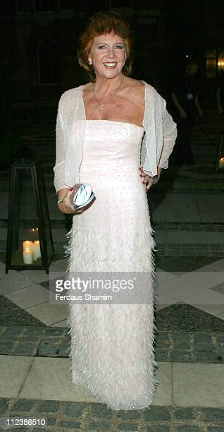 Cilla Black during ITV's 50th Anniversary Royal Reception - Outside Arrivals at Guildhall in London, Great Britain.