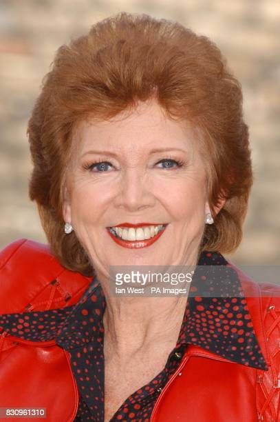 Cilla Black poses for photographers during a photocall ahead of the new series of Blind Date at Soho House Differences in the show include getting...