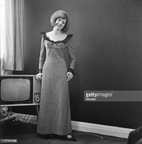 Cilla Black singer and television personality pictured in this posed feature for The Daily Mirror At the time of this picture Cilla Black had...