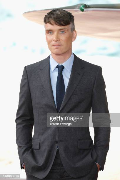 Cillian Murphy arrives at the 'Dunkirk' World Premiere at Odeon Leicester Square on July 13, 2017 in London, England.