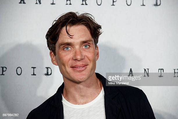 Cillian Murphy arrives for the UK Film premiere of 'Anthropoid' at BFI Southbank on August 30 2016 in London England