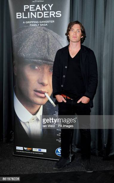 Cillian Murphy arriving at a gala screening of Peaky Blinders at the BFI, London. PRESS ASSOCIATION Photo. Picture date: Wednesday August 21,...