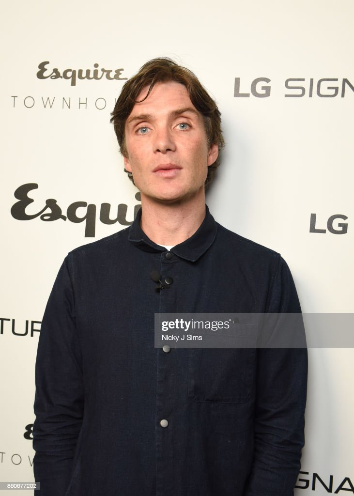 An Evening with Steven Knight and Cillian Murphy from Peaky Blinders at Esquire Townhouse with Dior : News Photo