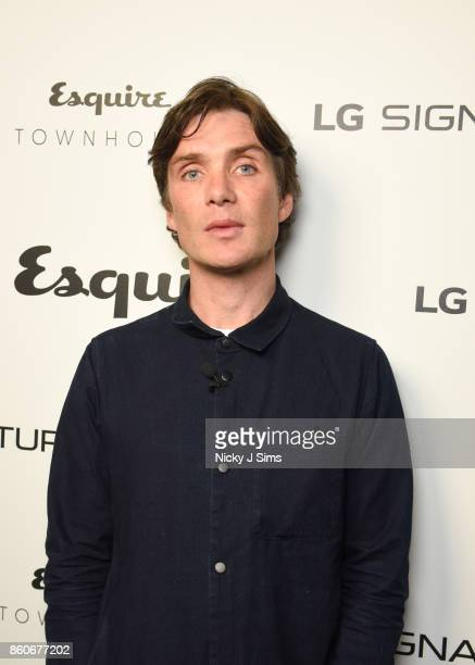 Cillian Murphy attends an An Evening with Steven Knight and Cillian Murphy from Peaky Blinders at Esquire Townhouse with Dior at Carlton House...