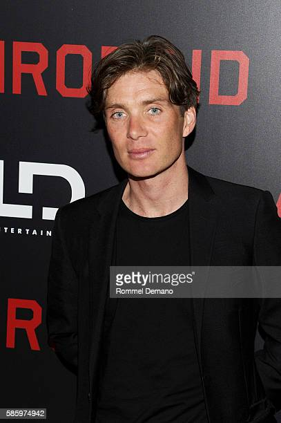 "Cillian Murphy attends ""Anthropoid"" New York Premiere at AMC Lincoln Square Theater on August 4, 2016 in New York City."