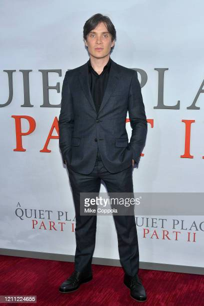 "Cillian Murphy attends the ""A Quiet Place Part II"" World Premiere at Rose Theater, Jazz at Lincoln Center on March 08, 2020 in New York City."