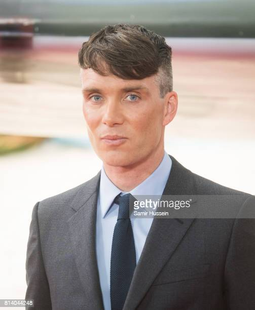 "Cillian Murphy attends the ""Dunkirk"" World Premiere at Odeon Leicester Square on July 13, 2017 in London, England."