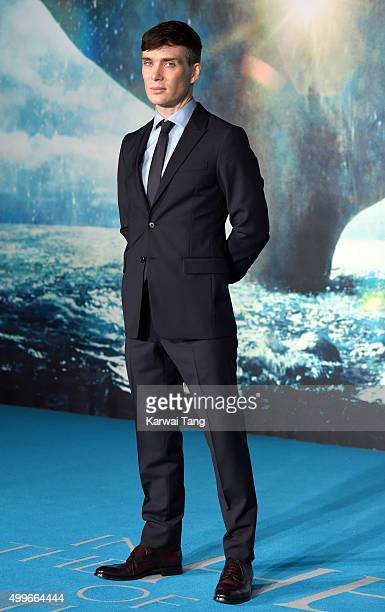 Cillian Murphy attends the European Premiere of 'In The Heart Of The Sea' at Empire Leicester Square on December 2 2015 in London England