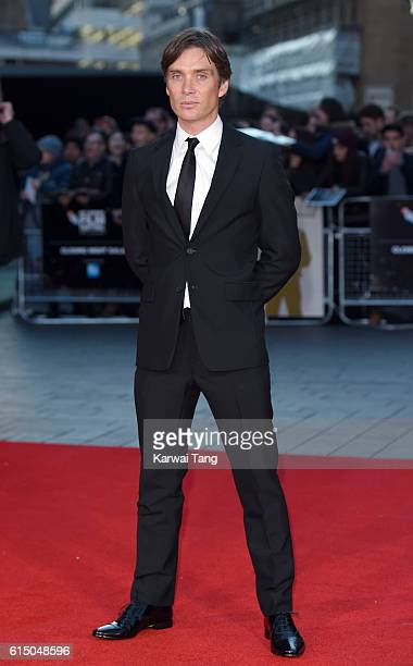 Cillian Murphy attends the 'Free Fire' Closing Night Gala during the 60th BFI London Film Festival at Odeon Leicester Square on October 16 2016 in...