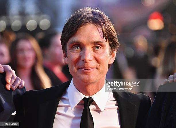 Cillian Murphy attends the 'Free Fire' Closing Night Gala screening during the 60th BFI London Film Festival at Odeon Leicester Square on October 16,...