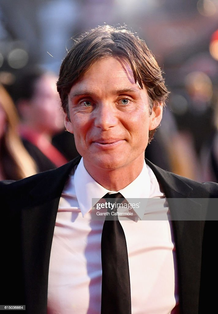Cillian Murphy attends the 'Free Fire' Closing Night Gala screening during the 60th BFI London Film Festival at Odeon Leicester Square on October 16, 2016 in London, England.