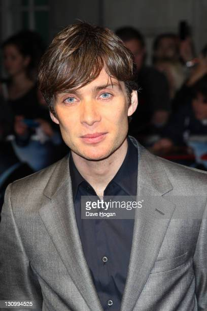Cillian Murphy attends the UK premiere of 'In Time' at The Curzon Mayfair on October 31 2011 in London United Kingdom