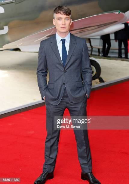 Cillian Murphy attends the World Premiere of Dunkirk at Odeon Leicester Square on July 13 2017 in London England