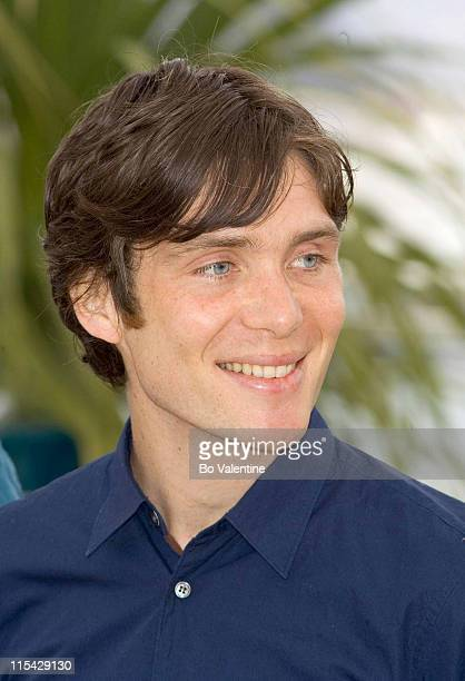 Cillian Murphy during 2006 Cannes Film Festival The Wind That Shakes The Barley Photocall at Palais des Festivals in Cannes France