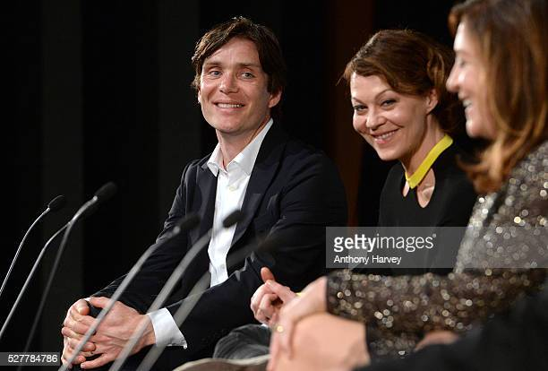 Cillian Murphy during a QA at the Premiere of BBC Two's drama 'Peaky Blinders' episode one series three at BFI Southbank on May 3 2016 in London...