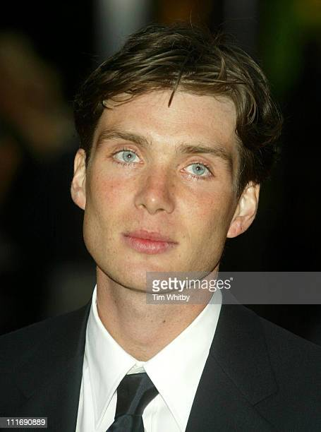 Cillian Murphy during Batman Begins London Premiere Arrivals at Odeon Leicester Square in London Great Britain