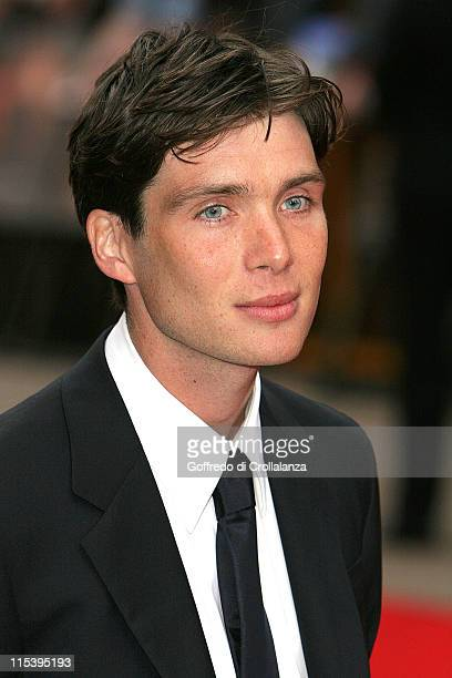 "Cillian Murphy during ""Batman Begins"" London Premiere - Arrivals at Odeon Leicester Square in London, Great Britain."