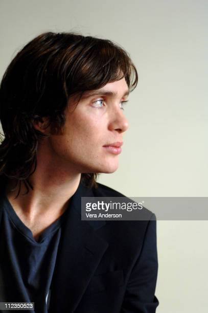"Cillian Murphy during ""Breakfast on Pluto"" Press Conference with Neil Jordan and Cillian Murphy at Four Seasons Hotel in Beverly Hills, California,..."