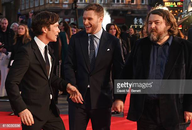 Cillian Murphy, Jack Reynor and Ben Wheatley attend the 'Free Fire' Closing Night Gala during the 60th BFI London Film Festival at Odeon Leicester...