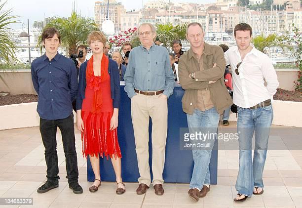 Cillian Murphy, Orla Fitzgerald, director Ken Loach, Liam Cunningham and Padraic Murphy