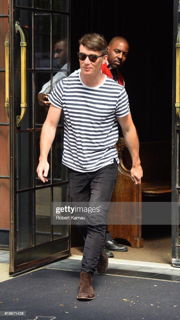 Celebrity Sightings in New York City - July 19, 2017