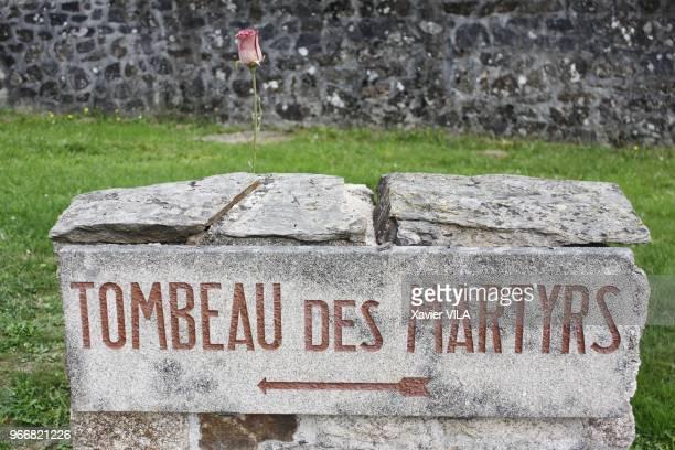 Cimetiere le 16 septembre 2011 OradoursurGlane HauteVienne Limousin Le nom d'OradoursurGlane reste attache au massacre de sa population par la...
