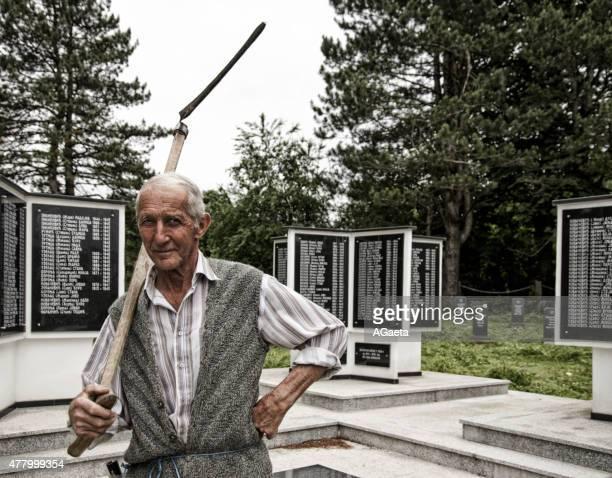 Cimitero in Bosnia