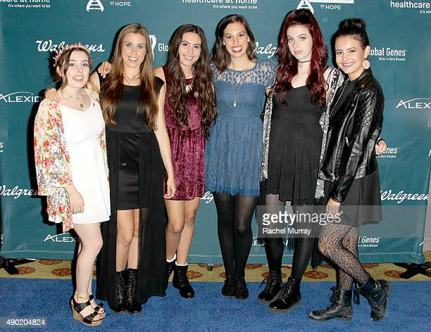 Cimorelli attends the 4th Annual RARE Tribute To Champions Of Hope Gala on September 26 2015 in Huntington Beach California