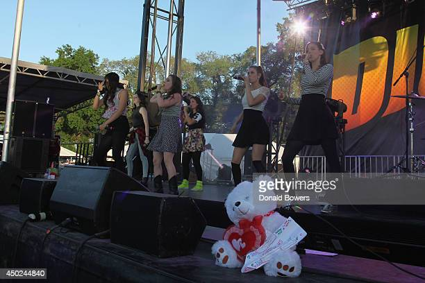 Cimorelli performs onstage DigiTour Media Presents DigiFest NYC at Citi Field on June 7 2014 in New York City
