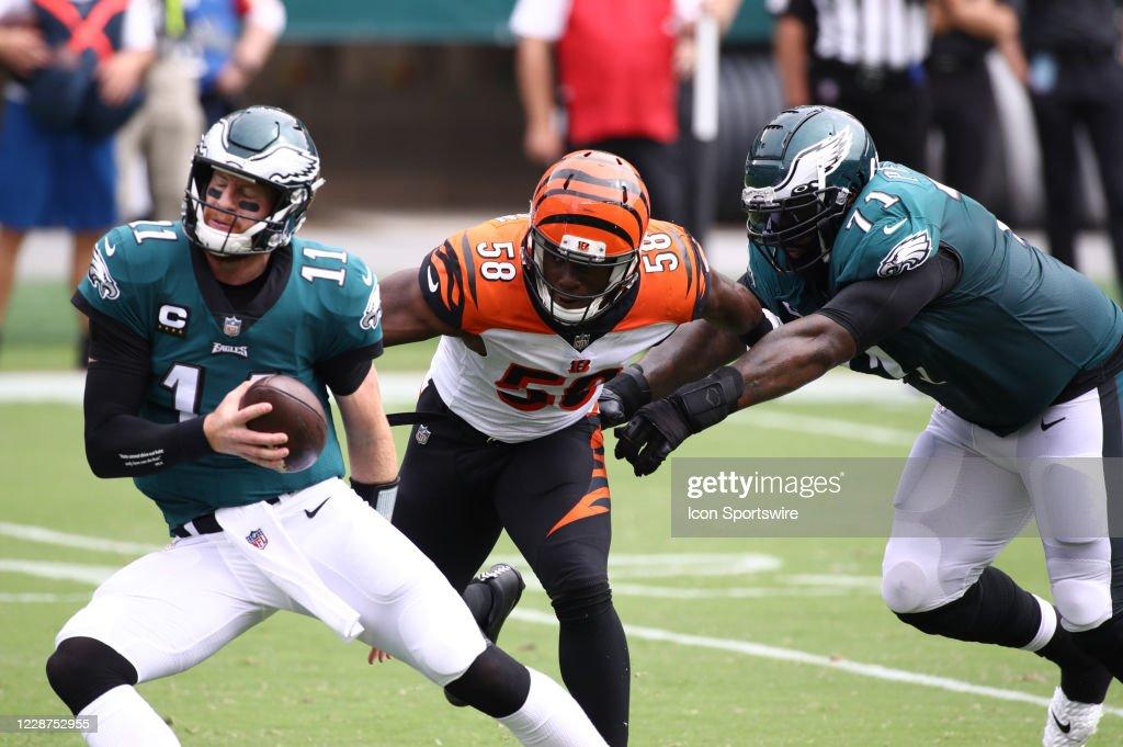 NFL: SEP 27 Bengals at Eagles : News Photo