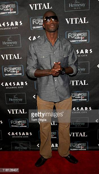 Cincinnati Bengals football player Chad Ochocinco attends the Any Given Sunday party at One Atlantic in The Pier Shops at Caesars on Sunday July 3...