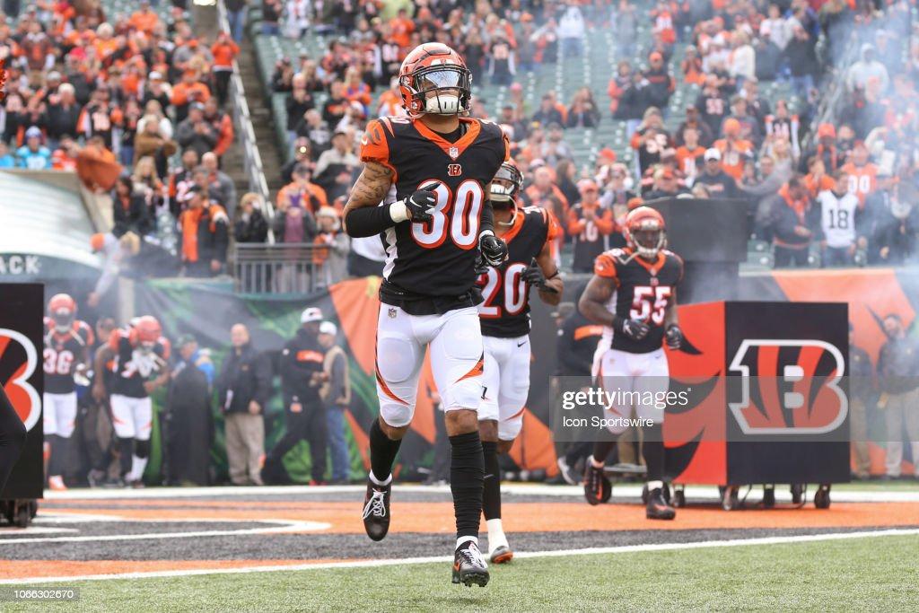 NFL: NOV 25 Browns at Bengals : News Photo