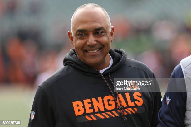 Cincinnati Bengals head coach Marvin Lewis before the game against the Chicago Bears and the Cincinnati Bengals on December 10th 2017 at Paul Brown...