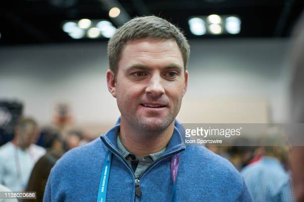 Cincinnati Bengals head coach Zac Taylor speaks to the media during the NFL Scouting Combine on February 27 2019 at the Indiana Convention Center in...