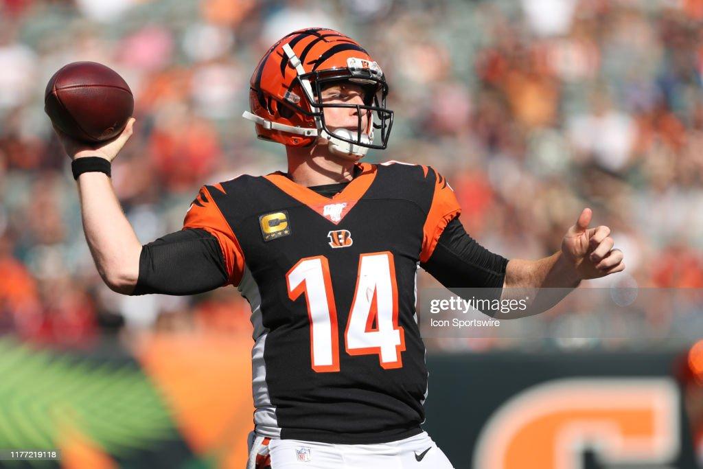 NFL: OCT 20 Jaguars at Bengals : News Photo