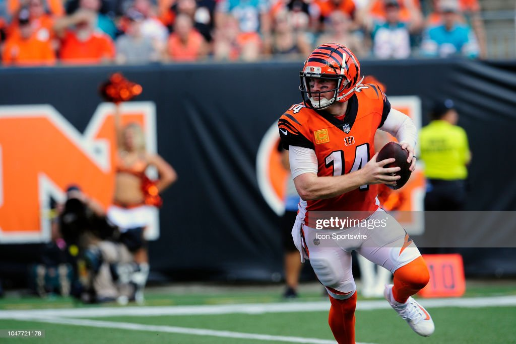 NFL: OCT 07 Dolphins at Bengals : News Photo