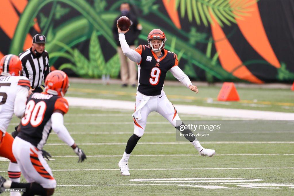 NFL: OCT 25 Browns at Bengals : News Photo