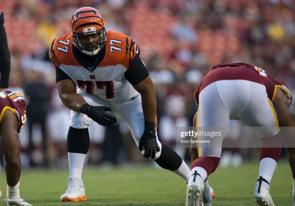 NFL: AUG 15 Preseason - Bengals at Redskins : News Photo