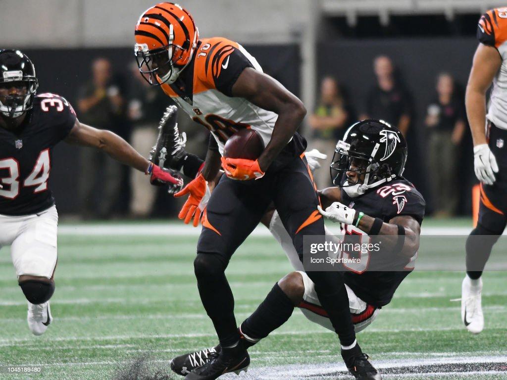 NFL: SEP 30 Bengals at Falcons : News Photo