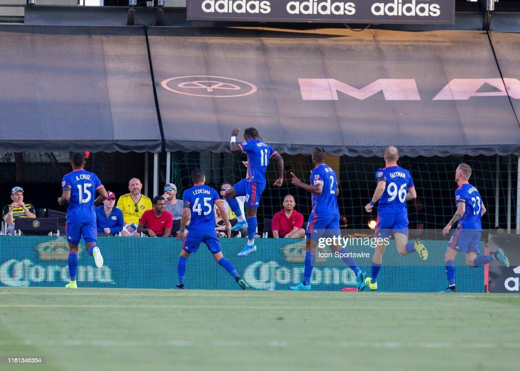 SOCCER: AUG 10 MLS - FC Cincinnati at Columbus Crew SC : News Photo