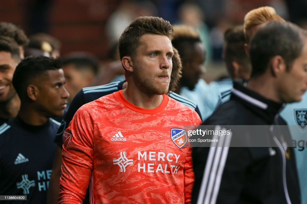 SOCCER: APR 19 MLS - Real Salt Lake at FC Cincinnati : News Photo
