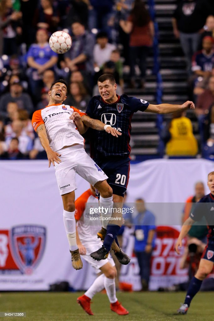 SOCCER: MAR 31 USL - FC Cincinnati at Indy Eleven : News Photo