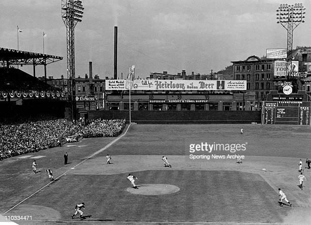 Cincinnati Reds ballpark during the 1940 World Series against the Detroit Tigers
