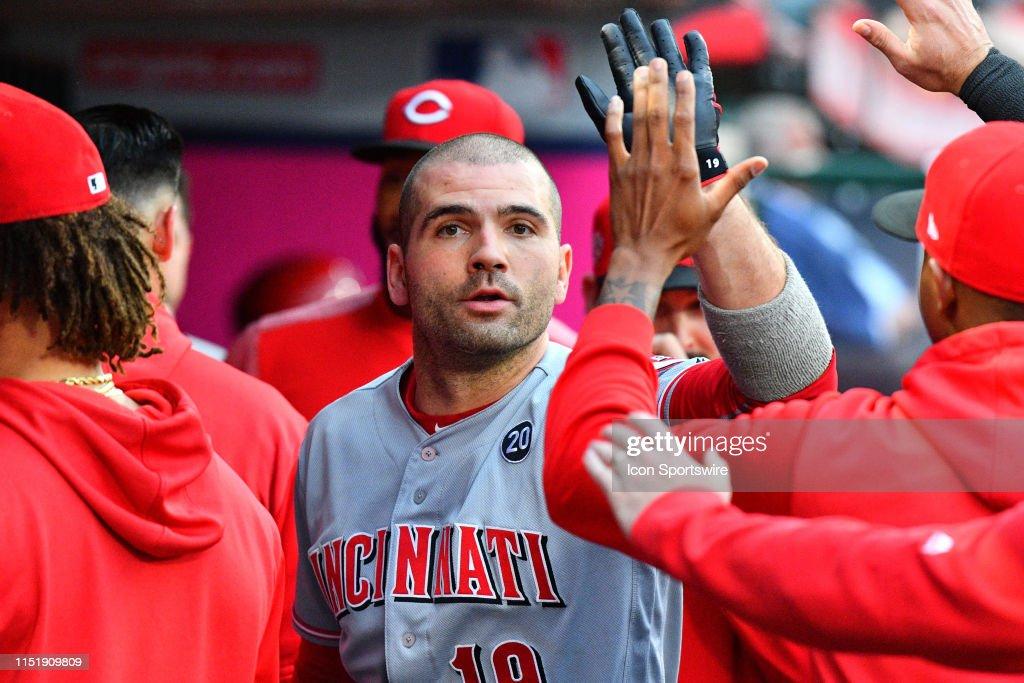 MLB: JUN 25 Reds at Angels : News Photo