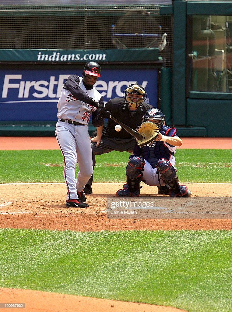 Cincinnati Reds vs Cleveland Indians - June 13, 2004