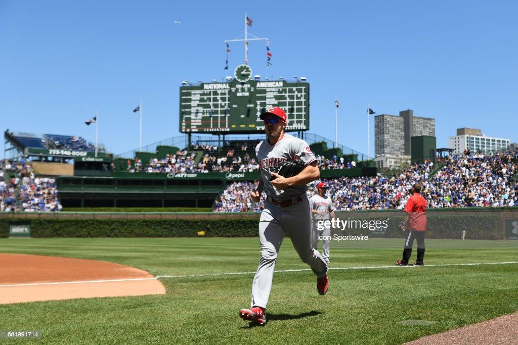 MLB: MAY 18 Reds at Cubs : News Photo