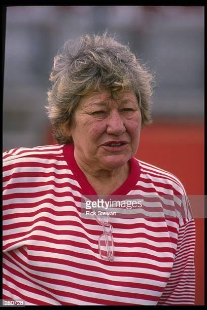 Cincinnati Reds owner Marge Schott