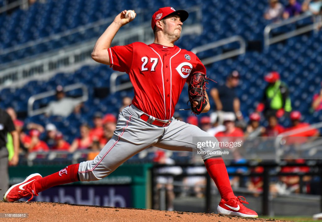 MLB: AUG 14 Reds at Nationals : News Photo